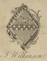 Alice Emma Wilkinson Bookplate