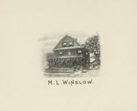 M.L. Winslow Bookplate