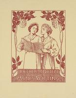Agnes Witting Bookplate