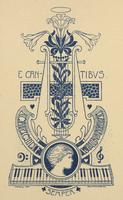 Caecilie Wolbrandt Bookplate