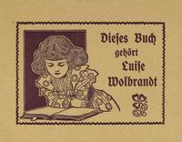 Luise Wolbrandt Bookplate