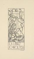 Jo Wolter Bookplate