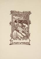 A. Mary Womrath Bookplate