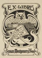 Susan Montgomery Wood Bookplate