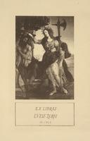 Luise Zorn Bookplate