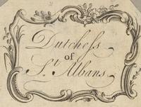 Duchess of St. Albands Bookplate