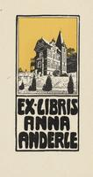 Anna Anderle Bookplate