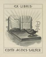 Edith Agnes Salter Bookplate