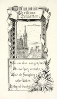Christina Schlatter Bookplate
