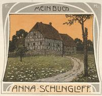Anna Schlingloff Bookplate