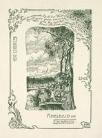 Adelheid Schmidt Bookplate