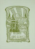 Anni Schulx Bookplate