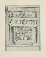 Elizabeth Canfield Selden Bookplate