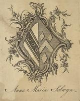 Anna Maria Selwyn Bookplate