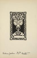 Mary Hey Schaffner Bookplate