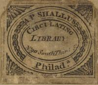 AP Shallus Circulating Library Bookplate