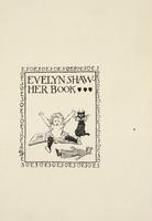 Evelyn Shaw Bookplate