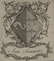 Ann Simmons Bookplate