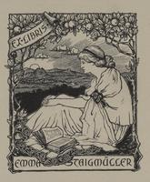 Emma Staigmüller Bookplate