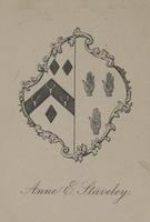 Anne E. Staveley Bookplate