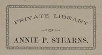 Annie P. Stearns Bookplate