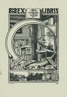 Caroline Grafin von Arnim Bookplate