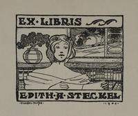 Edith A. Steckel Bookplate