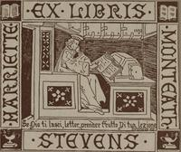Hariette Monteath Stevens Bookplate