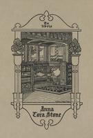 Anna Tora Stone Bookplate