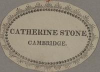 Catherine Stone Bookplate