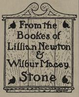 Lillian Newton and Wilbur Macey Stone Bookplate