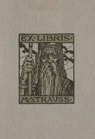 M. Strauss Bookplate