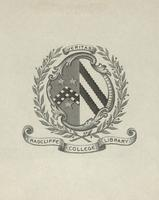 Radcliffe College Library Bookplate