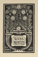 Alice E. Ricketts Bookplate