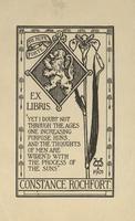 Constance Rochfort Bookplate
