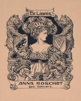 Anna Roschet Bookplate