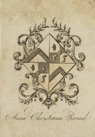 Anna Christiana Round Bookplate