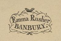 Emma Rusher Bookplate