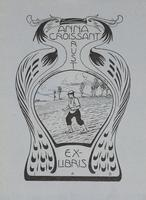 Anna Croissant Rust Bookplate