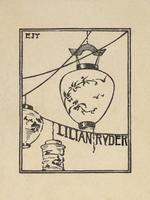 Lilian Ryder Bookplate