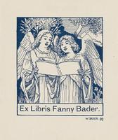 Fanny Bader Bookplate