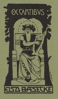 Elsa Baesecke Bookplate
