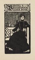 Bertha G. Bamberger Bookplate