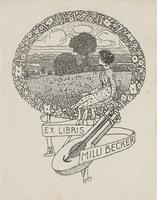 Milli Becker Bookplate
