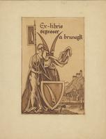 a Brunegk Begesser Bookplate