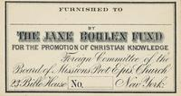 Jane Bohlen Bookplate