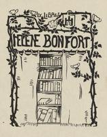 Helene Bonfort Bookplate