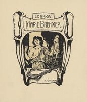 Marie Brehmer Bookplate