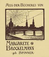 Margarete Brockelmann Bookplate