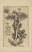 Latitia Ruth Brown Bookplate